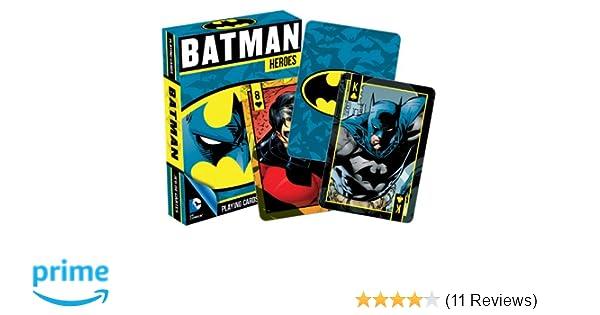 Batman Heroes Nightwing Robin DC Comics Playing Cards Deck Of 52 Poker