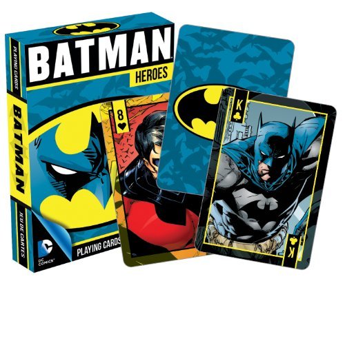 Aquarius DC Comics Batman Heroes Playing Cards ()