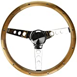 Grant 213 Classic Wood Steering Wheel with Rivets