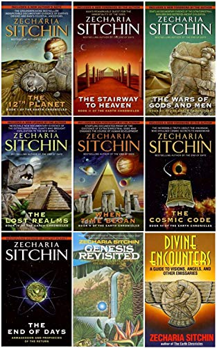 Stairway Set - A Complete Zecharia Sitchin Earth Chronicles Nine-Book Series Set, Includes: Twelfth Planet, Stairway to Heaven, War of Gods and Men, Lost Realms, When Time Began, Cosmic Code, End of Days, Genesis Revisited, and Divine Encounters