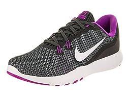 Nike Womens Wmns Nike Flex Tr 7 Anthracite Wht Dk Grey Violet Size 5.5