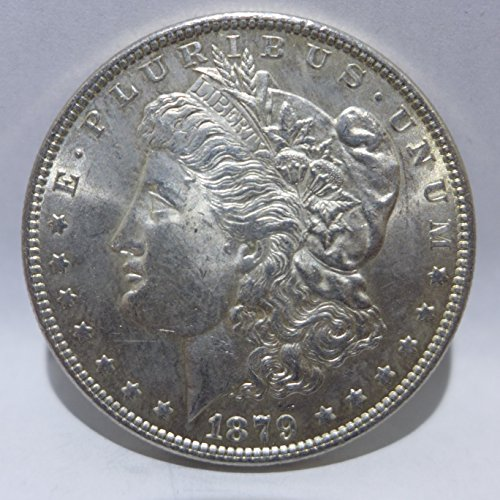 1879 Morgan Silver Dollar Almost Uncirculated