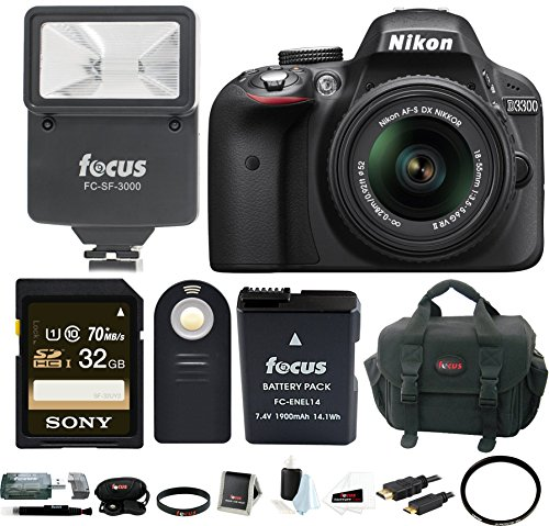 Camera 18 55mm Focus Digital Bundle product image