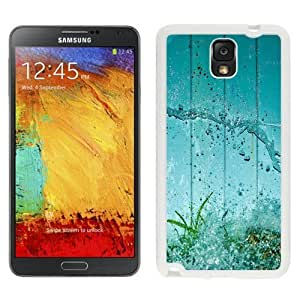 NEW Custom Designed For SamSung Galaxy S3 Case Cover Phone With Water Splash Green Grass Aquarium_White Phone