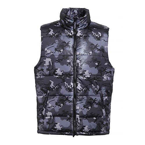2786 chaqueta de gris camuflaje Bodywarmer 000 hombre multicolor rU8Sqrx4