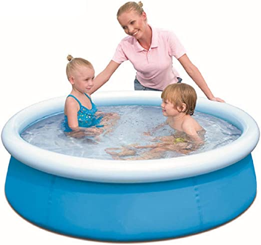 JINMM Piscina Hinchable Easy Set,Piscinas Infantil,152x38cm,Blue ...