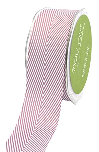 May Arts Chevron Stripe - Twill Chevron Stripes 1-1/2