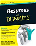 img - for Resumes For Dummies by Joyce Lain Kennedy (2011-02-08) book / textbook / text book