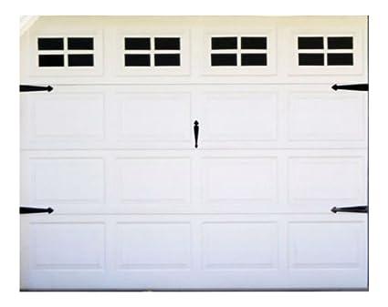 FAKE WINDOW VINYL STICKERS FOR YOUR GARAGE DOOR CARRIAGE HOUSE STYLE For  Standard Single Door