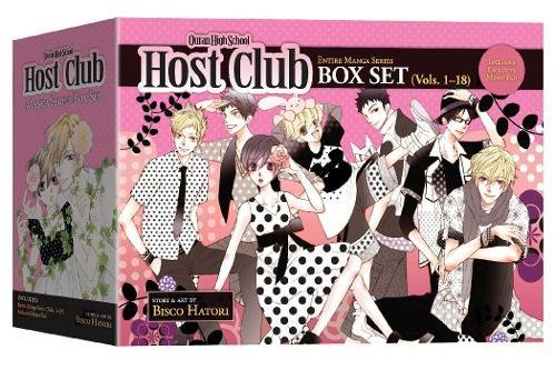 English Club - Ouran High School Host Club Box Set (Vol. 1-18)
