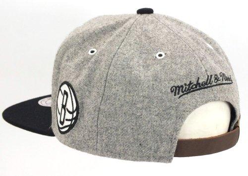 Brooklyn Nets Basecap Mitchell Strapback Cap Ness Kappe amp; NBA EC4aqwA