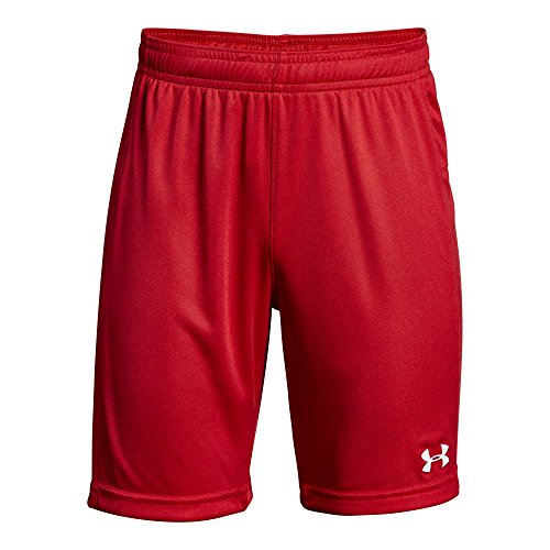 Under Armour Boys Kids' Golazo 2.0 Shorts, Red, Youth Medium, (600)/White]()