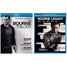 The Bourne Ultimate Collection 5-Disc Blu ray Set - The Bourne Identity/ The Bourne Supremacy/ The Bourne Ultimatum/ The Bourne Legacy