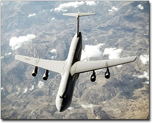 Air Force Aircraft Photos - C-5 Galaxy Transport Aircraft US Air Force 11x14 Silver Halide Photo Print