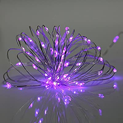 Bzone 3m 30 LEDs Copper Wire LED String Light, Battery Powered