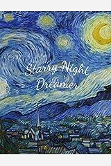 Starry Night Dreamer: Vincent van Gogh (Notebook, Sketchbook, Journal) Paperback