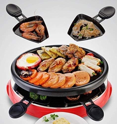 Four électrique portable, grill non-bâton de la maison, cuisson électrique gril poêle grill électrique barbecues WKY