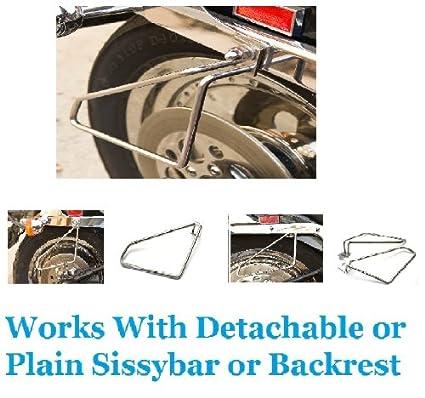 Motorcycle Saddlebags Support Brackets set For Harley Davidson Dyna wide  glide Brackets
