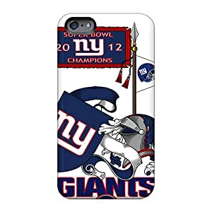 Excellent Cell-phone Hard Covers For Apple Iphone 6 Plus With Customized Lifelike New York Giants Pattern Allbestcases