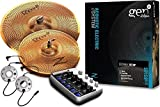 Zildjian Gen16 Buffed Bronze 14/18 Acoustic-Electric Cymbal Pack