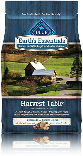 BLUE Earth's Essentials Harvest Table Chicken & Quinoa, 4 lb by BLUE Earth's Essentials