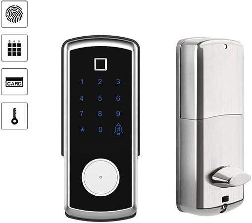 Amazon.com: Cerraduras electrónicas digitales para puerta de ...