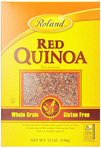 Roland Quinoa, Red, 12 Ounce (Pack of 12) by Roland