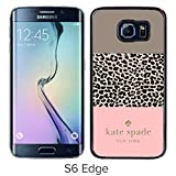 img - for Luxurious And Nice Custom Designed Kate Spade Cover Case For Samsung Galaxy S6 Edge Black Phone Case 109 book / textbook / text book