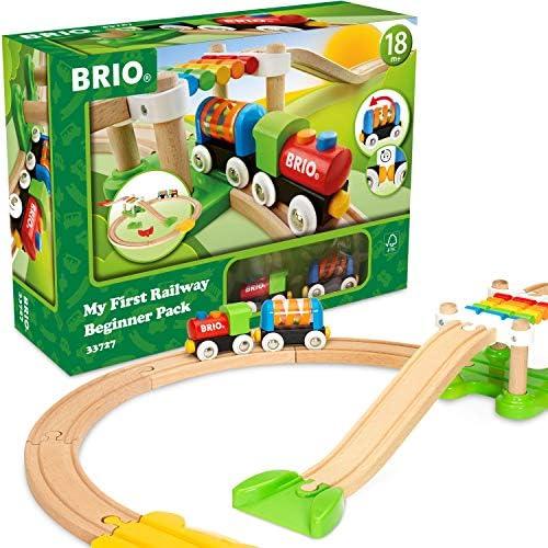 BRIO Bahn 33727 - Mein erstes  Bahn Spiel Set
