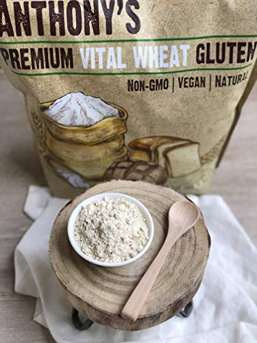 Anthony's Vital Wheat Gluten, 4 lb, High in Protein, Vegan, Non GMO, Keto Friendly, Low Carb 5