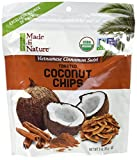 dry roasted coconut - Made In Nature Organic Vietnamese Cinamon Swirl Toasted Coconut Chips 3oz (Pack of 3)