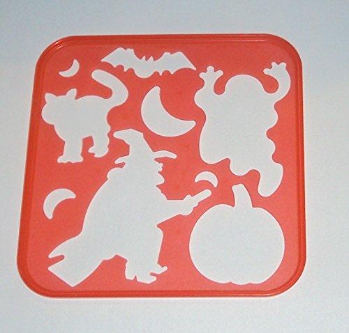 Tupperware Orange Halloween Stencil
