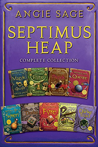 Angies Collection (Septimus Heap Complete Collection: Books One Through Seven Plus The Magykal Papers and The Darke Toad)