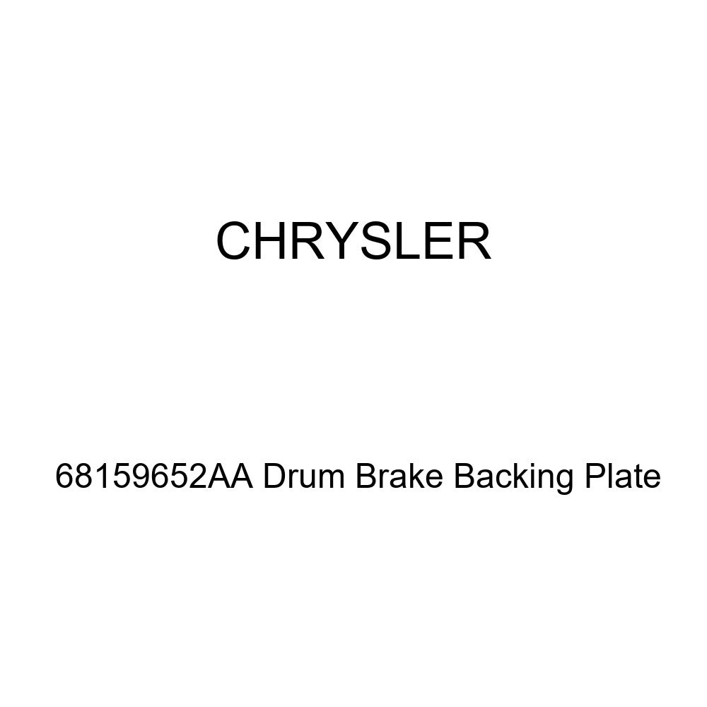 Genuine Chrysler 68159652AA Drum Brake Backing Plate