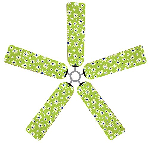 Fan Blade Designs 6500 Ceiling Fan Blade Covers, Daisies