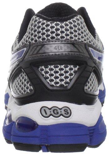ASICS Men's GEL-Nimbus 14 Running Shoe,Lightning/Blue/Black,11 M US