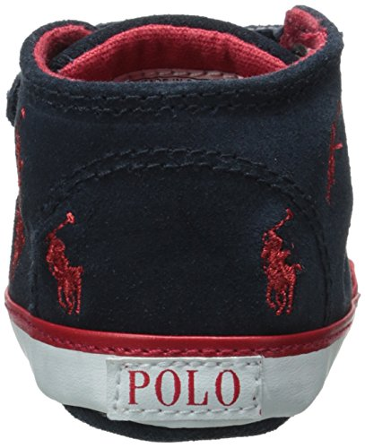 Polo Ralph Lauren Polo Bal Harbour Cap Toe Layette Navy Suede Baby Soft Soles Navy