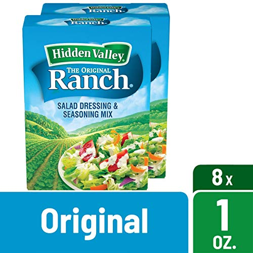 Hidden Valley Original Ranch Dips Mix, Gluten Free - 8 - Free Ranch Mix Gluten