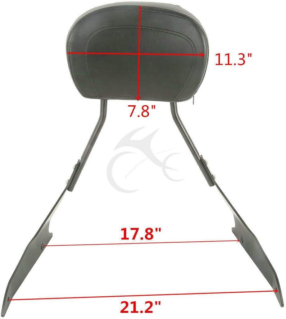 XFMT Detachable Sissy Bar Backrest For Suzuki Boulevard M109R M109RZ M109R2 06-11 0