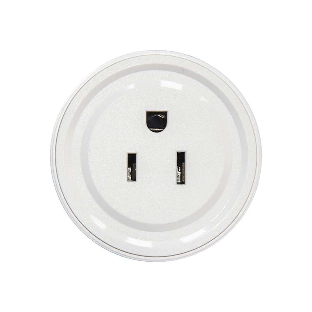 HP95 2PCS Smart US Plug WiFi Plug Smart Outlet Switch Works With Echo Alexa Google Remote Control Anywhere for Android & IOS