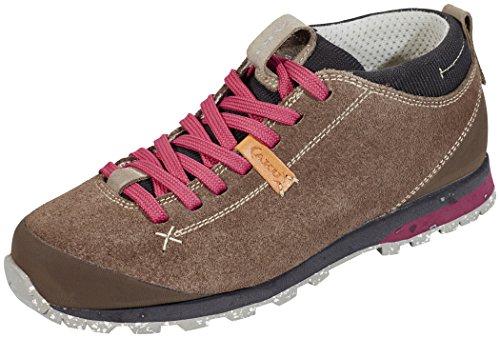 AKU Bellamont Suede - Zapatillas de deporte exterior Mujer sand/strawberry