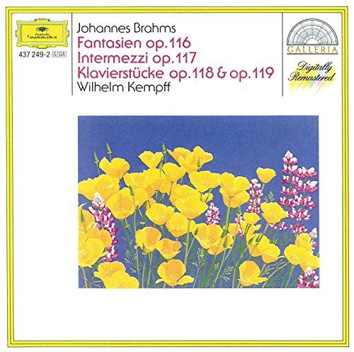 Price comparison product image Fantasien op.116, Intermezzi op.117, Klavierstucke op.118 & op.119