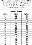 Men's AL2201 Basic Side Laced Vest Small Black