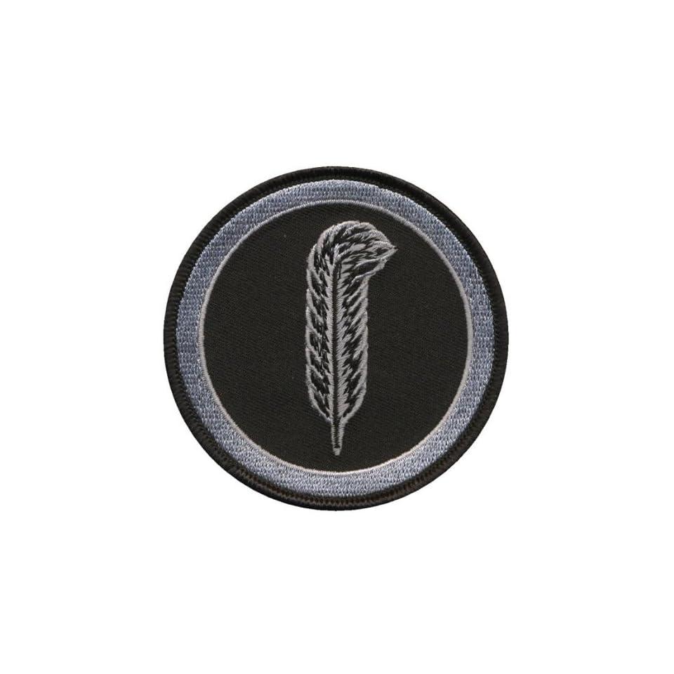 Led Zeppelin Tri Circles (John Bonhams Logo/Symbol) Embroidered Iron on Patch p367