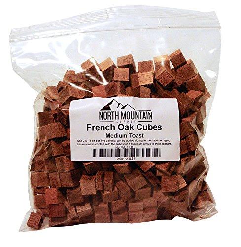 North Mountain Supply French Oak Cubes (Medium Toast, 1 Pound) ()