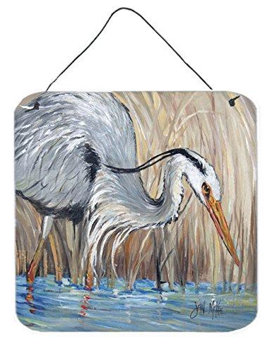 - Caroline's Treasures JMK1228DS66 Blue Heron Wall or Door Hanging Prints, 6 x 6