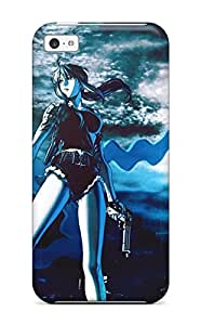 fenglinlinNannette J. Arroyo's Shop ipod touch 5 Case Cover - Slim Fit Tpu Protector Shock Absorbent Case (black Lagoon)