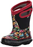 Bogs Baby Boys Classic Prints Waterproof Insulated Snow Boot, Kid Car Black Multi, 10 M US Toddler