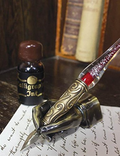victorian-style-pewter-poets-pose-hand-pen-rest-paperweight