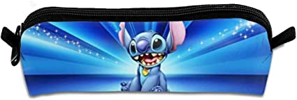 Lilo & Stitch - Estuche portátil con cremallera, práctico y compacto: Amazon.es: Oficina y papelería